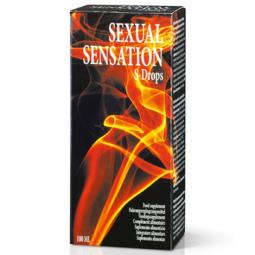 SENSUAL SENSATION GOTAS EROTICAS ESTIMULANTES 100ML