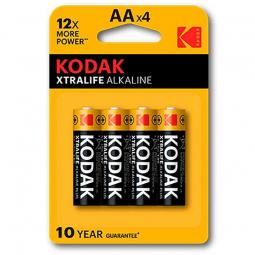 KODAK XTRALIFE PILA ALCALINA AA LR6 BLISTER4