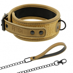 FETISH SUBMISSIVE ORIGEN COLLAR CON CADENA