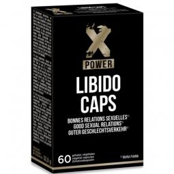 XPOWER LIBIDO CAPS COMPLEMENTO AUMENTO LIBIDO Y PLACER 60 UNIDADES