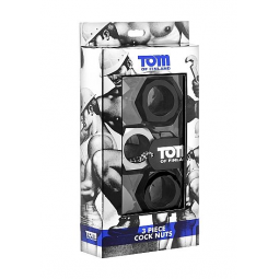 TOM OF FINLAND KIT 3 ANILLOS