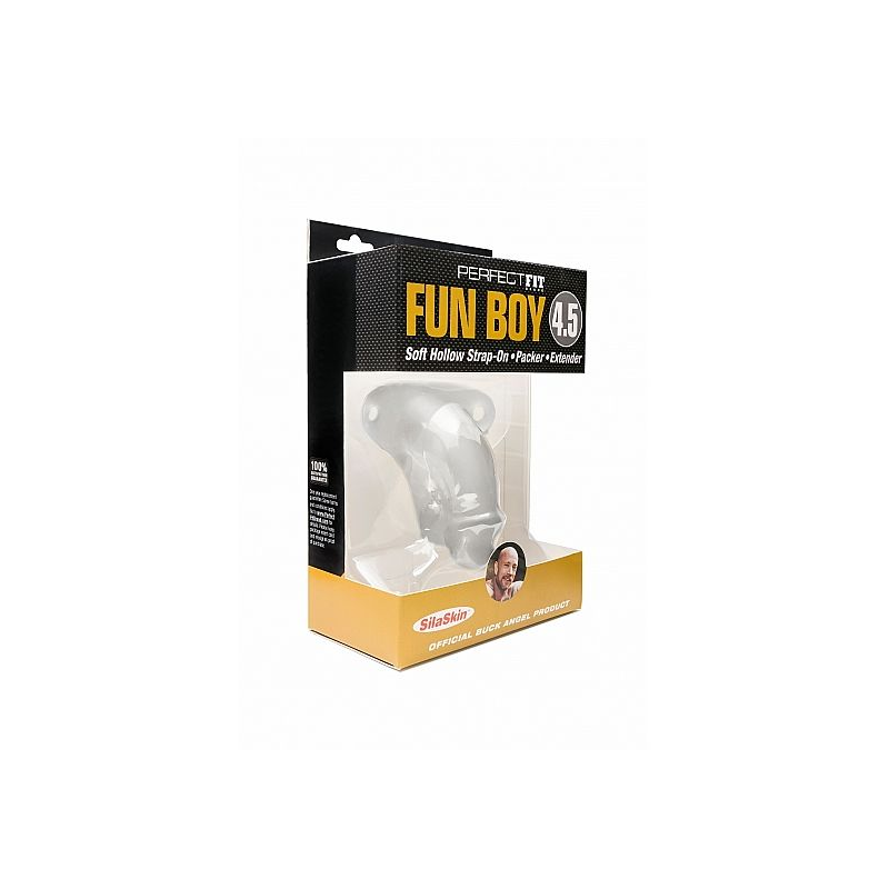 PERFECT FIT BUCK FUN BOY TRANSPARENTE 114CM