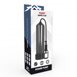 PUMP ADDICTED BOMBA ERECCIoN RX7 NEGRO