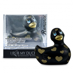 I RUB MY DUCKIE 20 PATO VIBRADOR ROMANCE BLACK GOLD