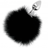 DARKNESS EXTRA BUTTPLUG ANAL CON COLA NEGRO 7CM