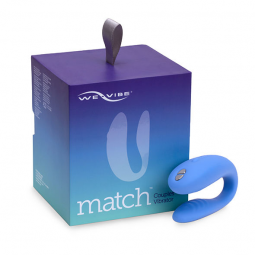 WE VIBE MATCH PINZA VIBRADORA PARA PAREJAS