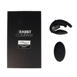 THE COUBLES RABBIT BY WE VIBE NEGRO CONTROL REMOTO