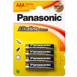 PANASONIC BRONZE PILA ALCALINA AAA LR03 BLISTER4