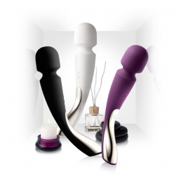LELO INSIGNIA SMART WAND MEDIUM BLACK
