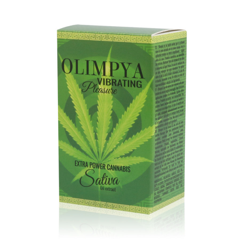 OLIMPYA VIBRATING PLEASURE POTENTE INTENSIFICADOR SATIVA