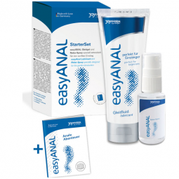 EASY ANAL STARTER SET LUBRICANTE RELAJANTE ANAL