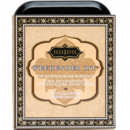 KAMASUTRA WEEKENDER TIN KIT VANILLA CREAM VAINILLA