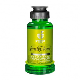 FRUITY LOVE ACEITE MASAJE EFECTOR CALOR 100 ML CAPTUS LIMA SWEDE
