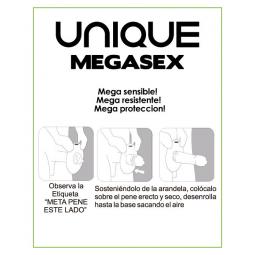 UNIQ MAGASEX MEGA SENSIBLE 3 UDS