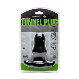 PERFECTFIT DOUBLE TUNNEL PLUG MEDIANO NEGRO