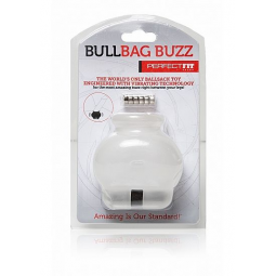 PERFECTIFT BULL BAG BALL STRETCHER BUZZ TRANSPARENTE