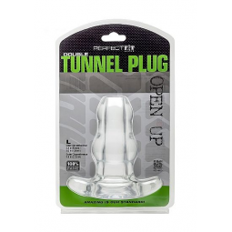 PERFECT FIT DOUBLE TUNNEL PLUG L TRANSPARENTE