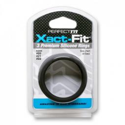 PERFECFIT XACT FIT KIT 3 ANILLOS DE SILICONA 5 CM 53 CM Y 55 CM