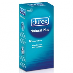 DUREX NATURAL PLUS 12 UNIDADES