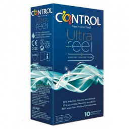 CONTROL ADAPTA ULTRA FEEL 30 MaS FINO 10UDS