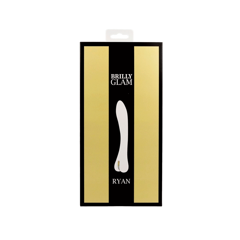 BRILLY GLAM RYAN VIBRADOR LUXE NEGRO
