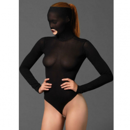LEG AVENUE MASKED TEDDY BEADED G STRING