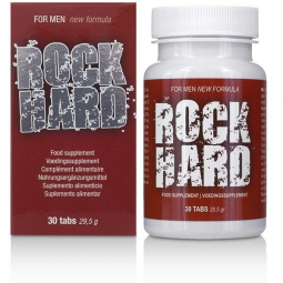 ROCK HARD MAS POTENCIA 30 CAP