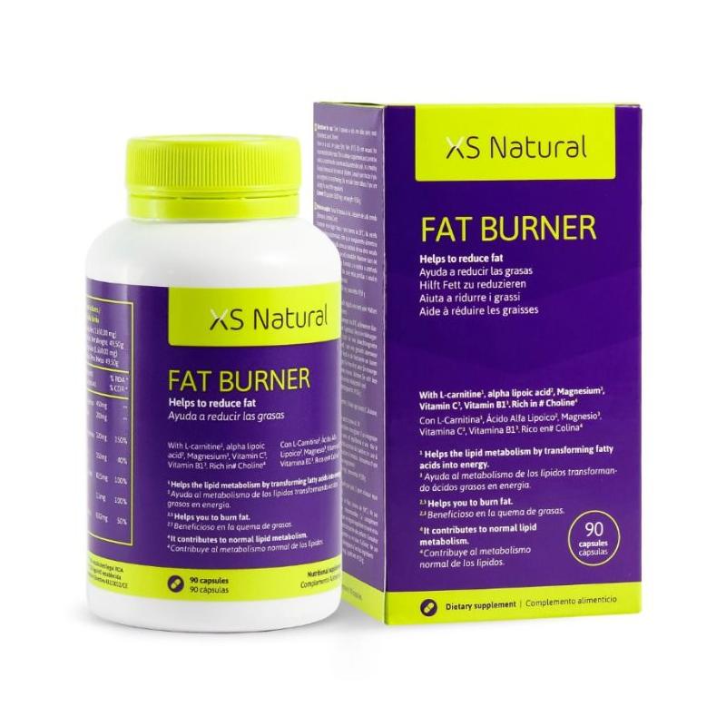 XS FAT BURNER CAPSULAS QUEMAGRASAS