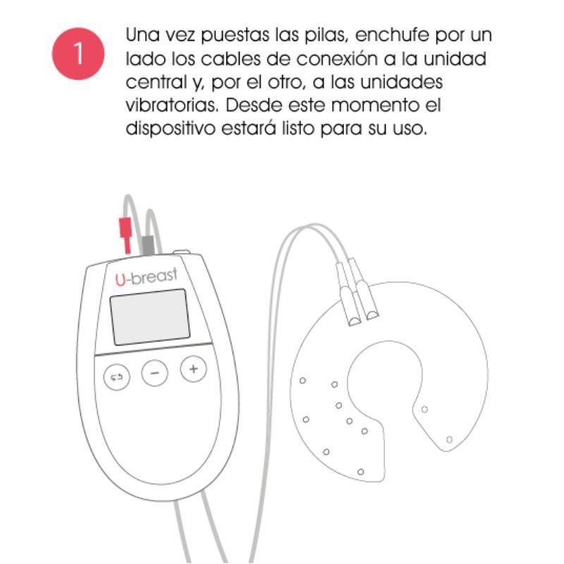U BREAST AUMENTO PECHOS ELECTROESTIMULACION
