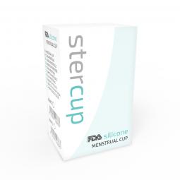 STERCUP COPA MENSTRUAL FDA SILICONE TALLA S ROSA